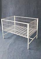 Акційний стіл , кошик підлогова 800х1200х850 (h) різних розмірів