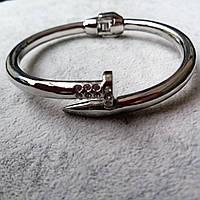 """Женский браслет-гвоздь металлический на руку """"Jeseka"""""""