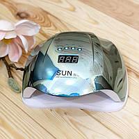 Лампа для манікюру SUN X Mirror Blue UV/LED, 54 Вт, фото 1