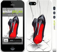 "Чехол на iPhone 5s Devil Wears Louboutin ""2834c-21"""