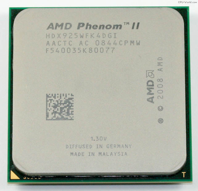 "Процессор AMD Phenom II X4 925 2.8GHz  Б\У ""Over-Stock"""