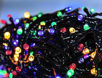 Новогодняя светодиодная гирлянда 201 led цветная Multi Function