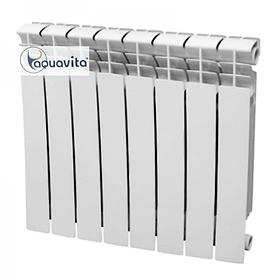 Биметаллический радиатор Santan AQUAVITA 500/96 D7 30 бар 10 секций в сборе