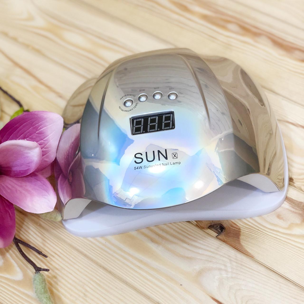 Лампа для маникюра SUN X Mirror UV/LED, 54 Вт