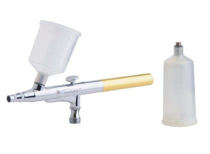 Аэрограф TG136-1 профессиональный с пластиковой ёмкостью, 0,3 мм
