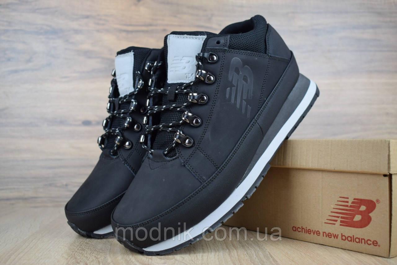 Мужские зимние кроссовки New Balance 754 (черно-белые)