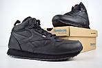 Мужские зимние ботинки Reebok высокие (черные), фото 9