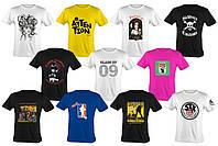 Печать на футболке, фото