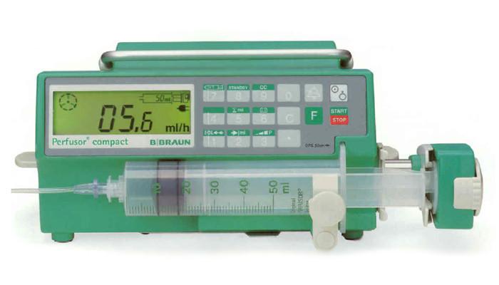 Перфузор компакт, шприцевой инфузионный насос