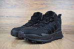 Мужские зимние кроссовки Adidas Terrex (черные), фото 4