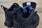 Мужские зимние кроссовки Adidas Terrex (черные), фото 6