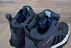 Мужские зимние кроссовки Adidas Terrex (серые), фото 2