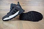 Мужские зимние кроссовки Adidas Terrex (серые), фото 5