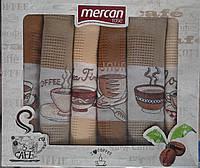 """Комплект вафельных кухонных полотенец  """"Mercan"""" Турция"""