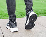 Мужские зимние кроссовки Nike M2K Tekno (черно-белые), фото 2