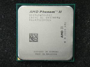 """Процессор AMD Phenom II X4 945 3.0GHz  Б\У """"Over-Stock"""""""