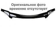 Дефлектор капота  Hyundai TUCSON с 2004  (без клыков),  Мухобойка Hyundai TUCSON