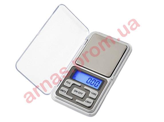 Ювелирные карманные весы Pocket Scale MH-500 0,01-500г, фото 2