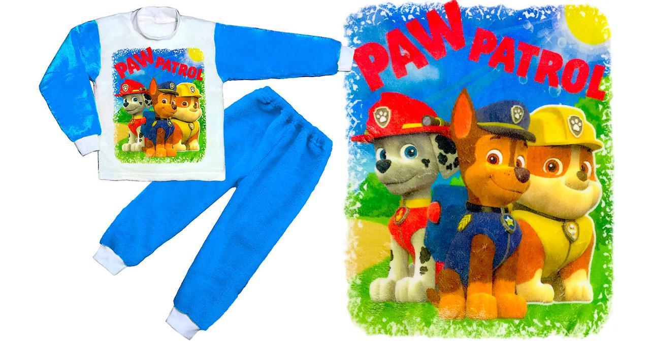 Пижама Щенячий патруль (вельсофт)