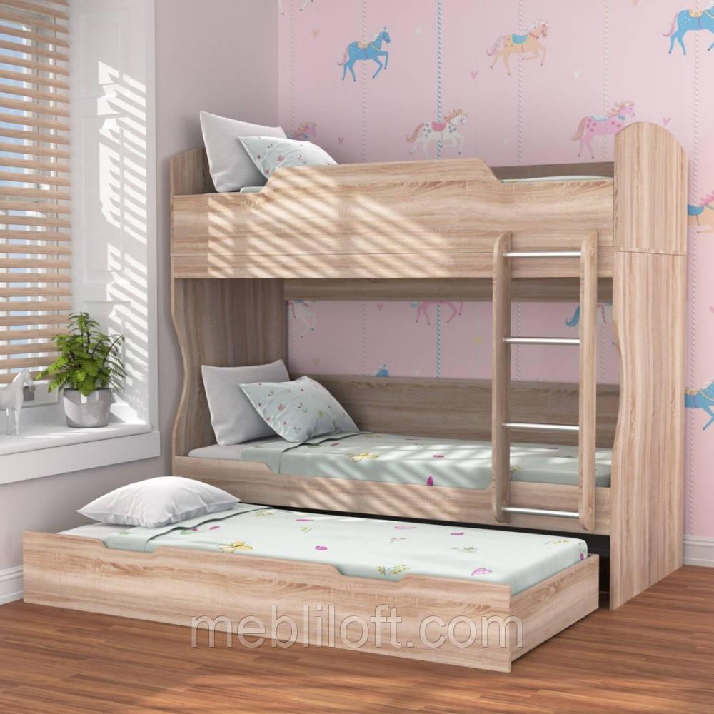 Двох'ярусне ліжко Хостел / Hostel