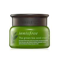 Крем для лица с зеленым чаем, Innisfree Green Tea Seed Cream, 50 мл
