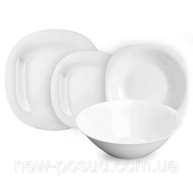 Столовый сервиз Luminarc Carine White 19 предметов N2185