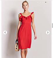 Платье с рюшами Forever 21 (XL,48)