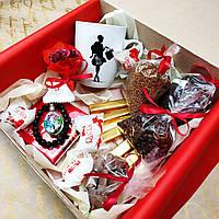 """Красивый и вкусный подарок для девушек """"Кофе и шоколад"""""""