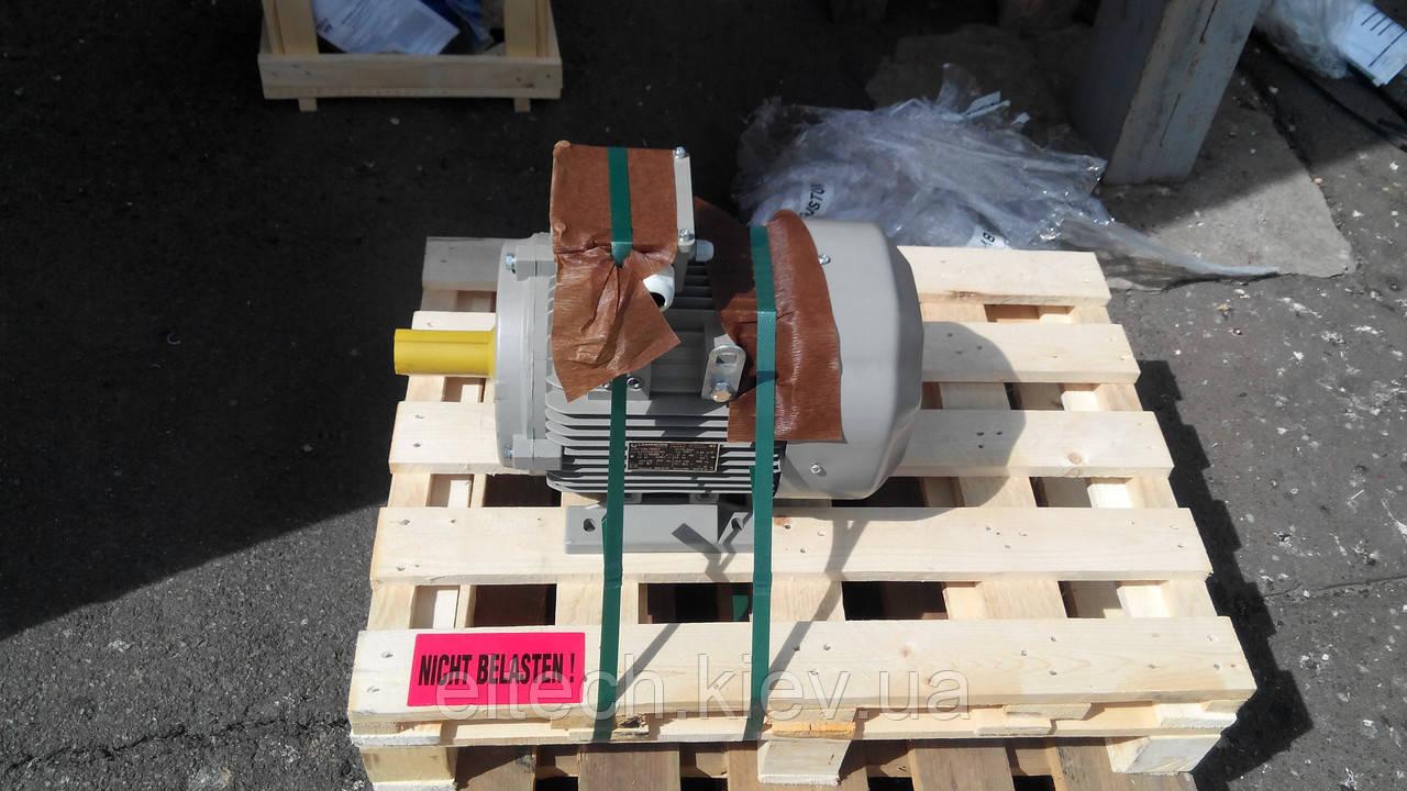 Электродвигатель асинхронный Lammers 13AA-132S-2-В3-7,5кВт, лапы, 3000 об/мин