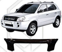 Дефлектор капота  Hyundai TUCSON с 2009, Мухобойка Hyundai TUCSON