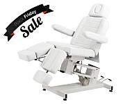 Кушетка косметологическая педикюрная электрическая стационарная кресло для педикюрного кабинета BS-3706