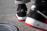 Мужские кроссовки Nike Air Force 1 07 LV8 (красно-белые), фото 3