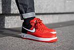 Мужские кроссовки Nike Air Force 1 07 LV8 (красно-белые), фото 4