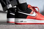 Мужские кроссовки Nike Air Force 1 07 LV8 (красно-белые), фото 5