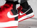 Мужские кроссовки Nike Air Force 1 07 LV8 (красно-белые), фото 6