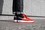 Мужские кроссовки Nike Air Force 1 07 LV8 (красно-белые), фото 9