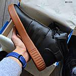 Мужские кроссовки Adidas Tubular Invader Strap (черные), фото 6