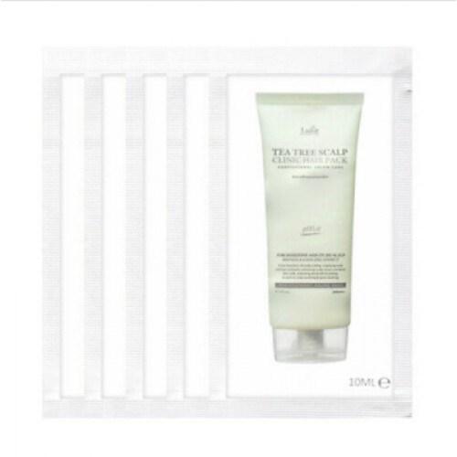 Очищающая пилинг-маска для головы Lador Tea Tree Scalp Clinic Hair Pack – sample
