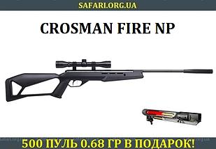 Пневматическая винтовка Crosman Fire NP (4x32)