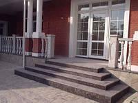 Гранитные лестницы строительство в  Житомире Днепропетровске
