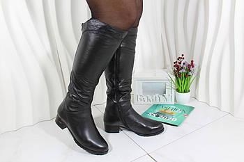 Чорні зимові чоботи Berloni F89