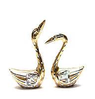 Лебеди пара металл (14х9х4 см)