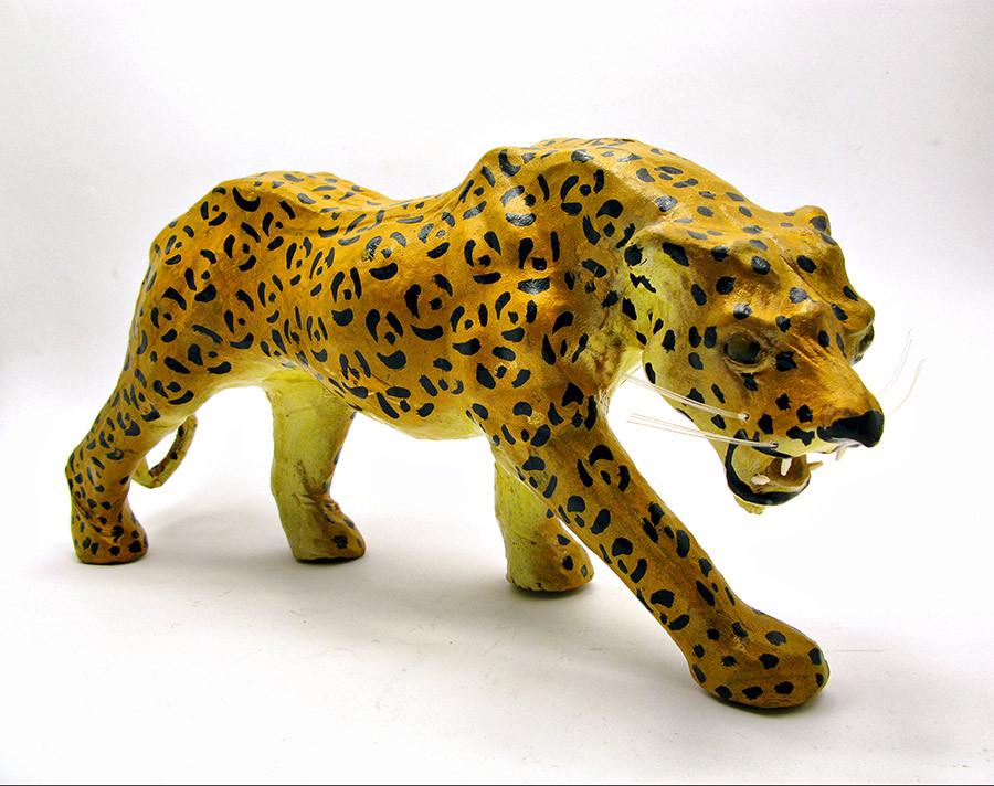 """Леопард кожа (34х16х8 см)(12"""")"""