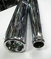 Выхлопные трубы, глушители Ява/JAWA 350/638 Тайвань