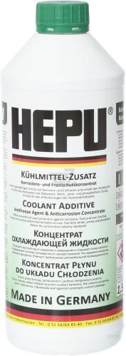 Антифриз зеленый HEPU P999 (-76C) (1,5л)