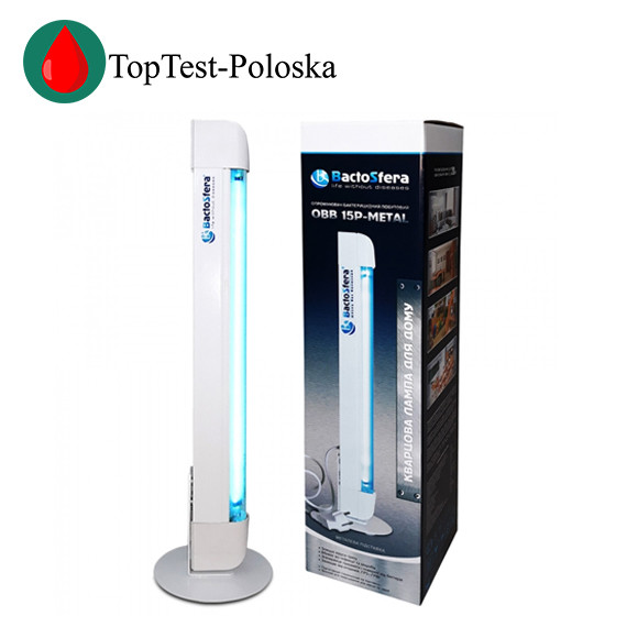 Бактерицидная лампа BaktoSfera OBB 15P-METAL OZONE FREE