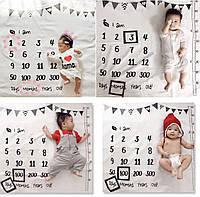 Фотофон, реквизит для фотосессии пеленка для фотосессии новорожденного пелюшка для фотосесії