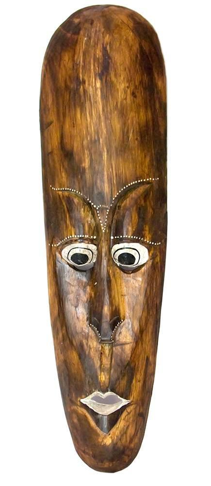 Маска деревянная (19х5,5х60 см)