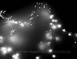 Гирлянда Xmas Star Light 12V White, светодиодная LED гирлянда белая