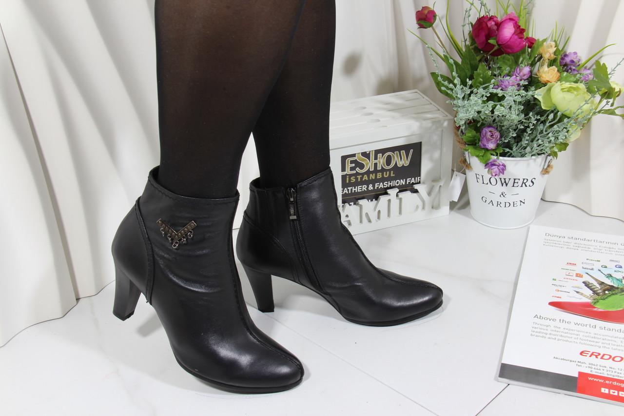 Ботинки кожаные Anassana 0409